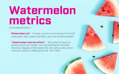 Watertight, not Watermelon SLA's